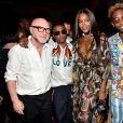 Domenico Dolce, Wizkid, Naomi Campbell, Tinie Tempah au défilé Dolce & Gabbana The Secret pendant la Fashion Week Printemps / Été 2019 homme de Milan, Italie, le 16 juin 2018.