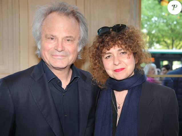 Franz,Olivier Giesbert et sa compagne Valérie Toranian , Concert  commémoratif pour les 100 ans
