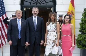 Melania Trump et Letizia d'Espagne : Duel fashion à Washington