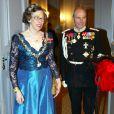 La princesse Elisabeth de Danemark. Le 1er janvier 2003.
