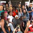 Brigitte Macron au festival Solidays, le vendredi 22 juin 2018.