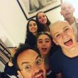 """Jarry sur le tournage des """"Bracelets rouges"""", saison 2. Un cliché dévoilé le 28 juin 2018."""