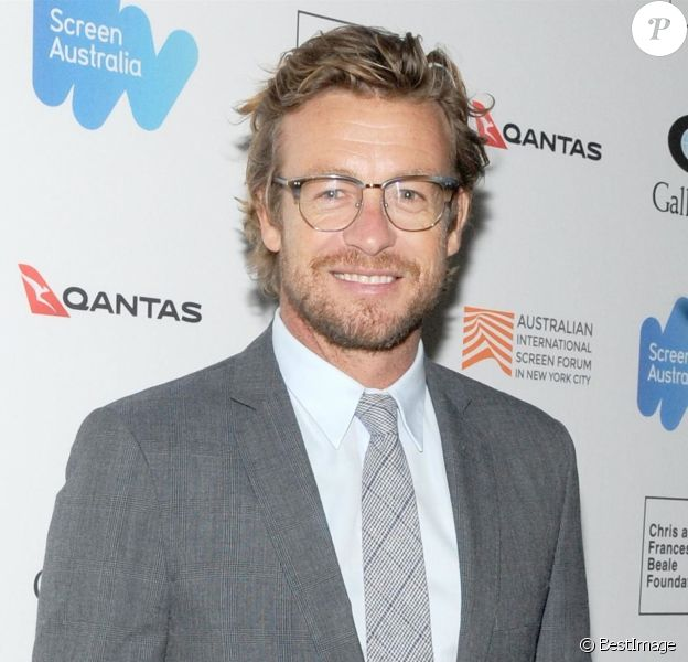 "Simon Baker à la première du film ""Breath"" lors du ""Australian International Screen Forum"" au théâtre Francesca Beale à New York, le 20 mars 2018."