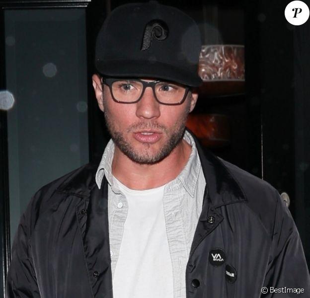 Ryan Phillippe quitte le restaurant Craig's à West Hollywood le 22 mars 2018.