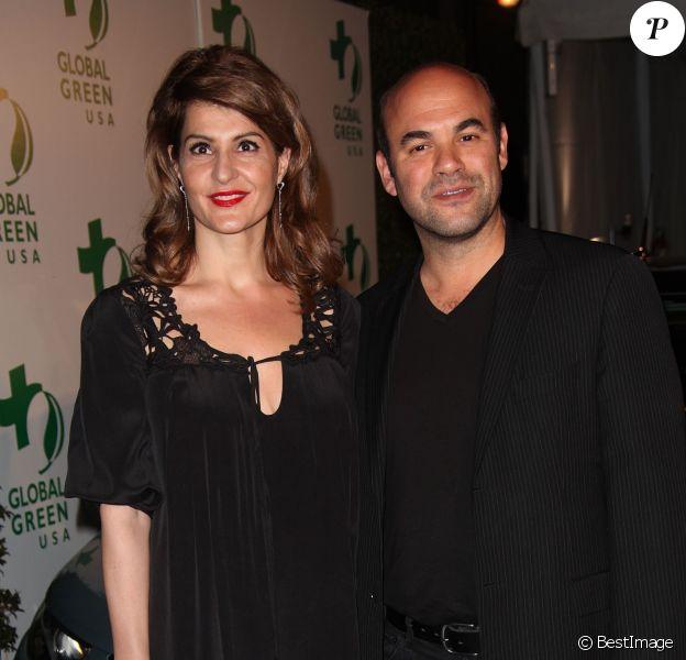 Nia Vardalos et Ian Gomez à la soirée The Global Green USA's 7th Annual Pre-Oscar Party, à Hollywood, le 3 mars 2010.