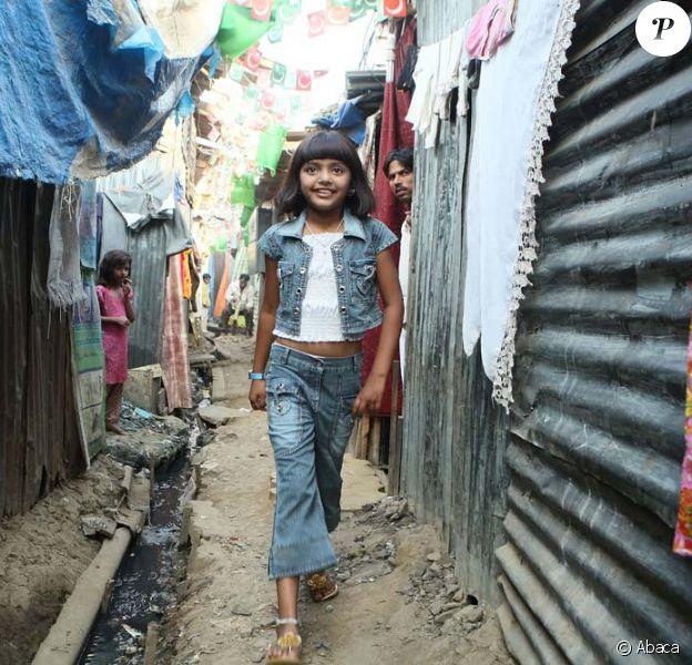 """Rubina Ali, l' enfant star de """"Slumdog Millionaire""""."""