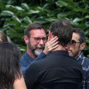 Obsèques de Corbier : Son fils en larmes près de Dorothée et Ariane
