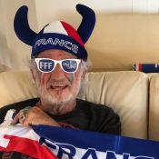 Jean-Paul Belmondo, 85 ans, soutient les Bleus avec ferveur et style !