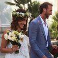 Fabien Gilot a épousé Audrey à Marseille le 6 juillet 2018.