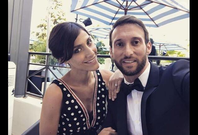 Fabien Gilot et Audrey au Festival de Cannes le 19 mai 2018.
