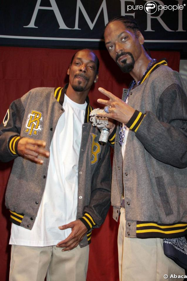 Snoop Dogg a inauguré hier sa statue de cire au musée Madame Tussauds de Las Vegas