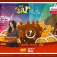 La campagne Carrefour Market avec Plus Belle La Vie