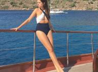 Anouchka Delon canon en maillot de bain avec son chéri Julien Dereims