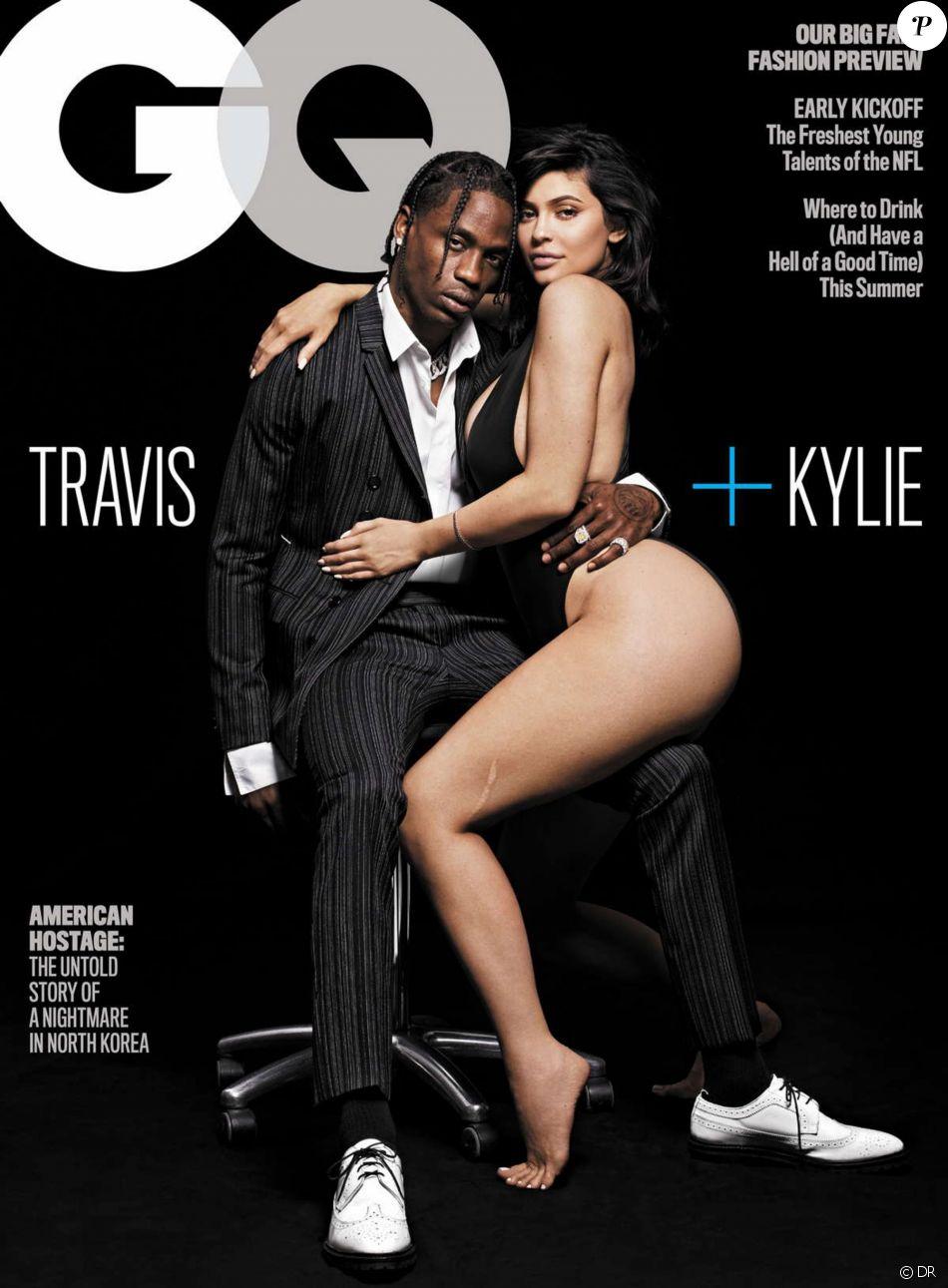 """Couverture du magazine """"GQ"""", édition d'août 2018."""