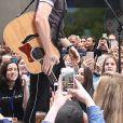 """Shawn Mendes en concert sur l'émission """" Today """" à New York Le 01 juin 2018"""