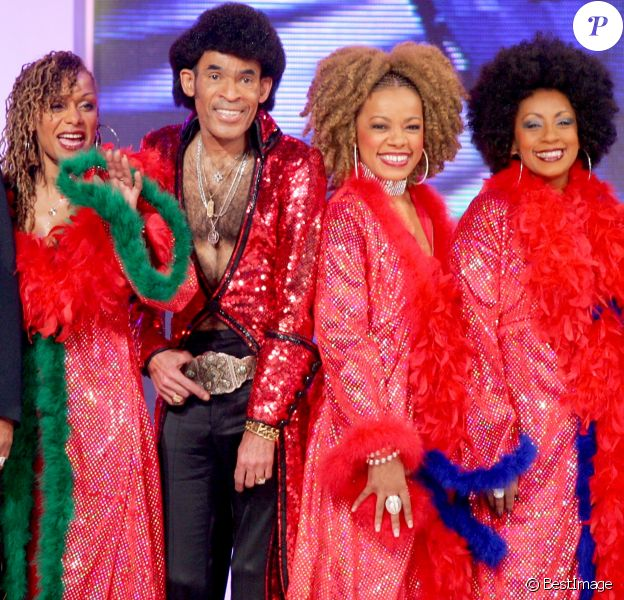 """Boney M - Enregistrement de l'émission """"Vivement Dimanche"""" spéciale disco le 28 février 2008."""