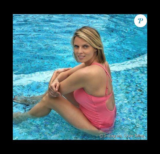 Sylvie Tellier a accouché de son troisième enfant - 14 juillet 2018