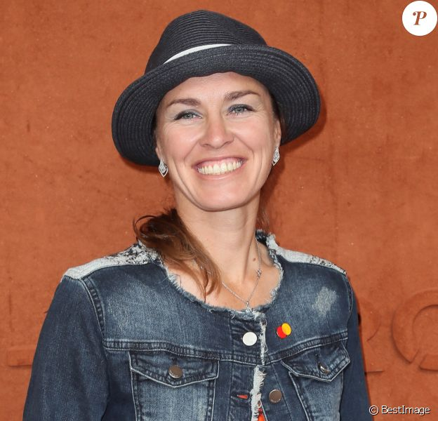 Martina Hingis - People au village des Internationaux de Tennis de Roland Garros à Paris, France, le 6 juin 2018. © Cyril Moreau / Bestimage