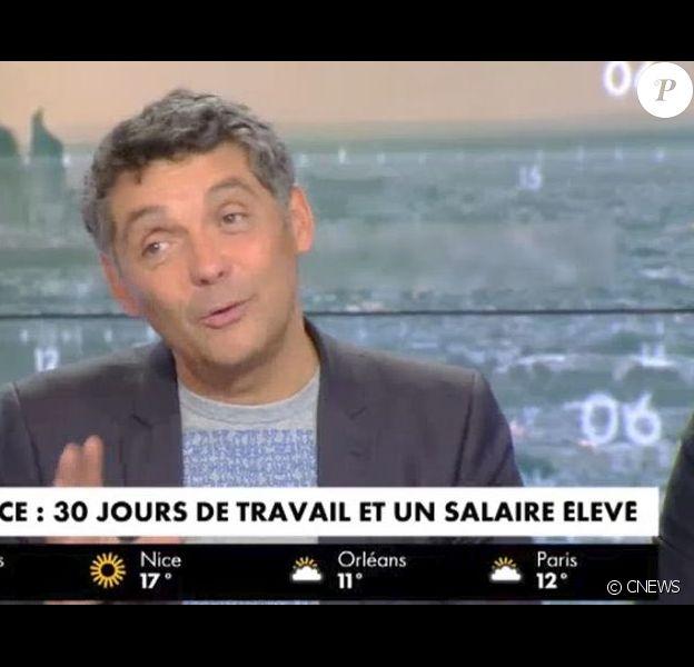 Thierry Moreau dans la matinale de CNews - 12 septembre 2017