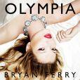 Kate Moss sur la pochette de l'album  Olympia  de Bryan Ferry, octobre 2010.