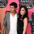 Joe Jonas et Demi Lovato en 2010.