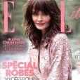 "Helena Christensen dans ""Elle"", en kiosques ce 27 juillet 2018."