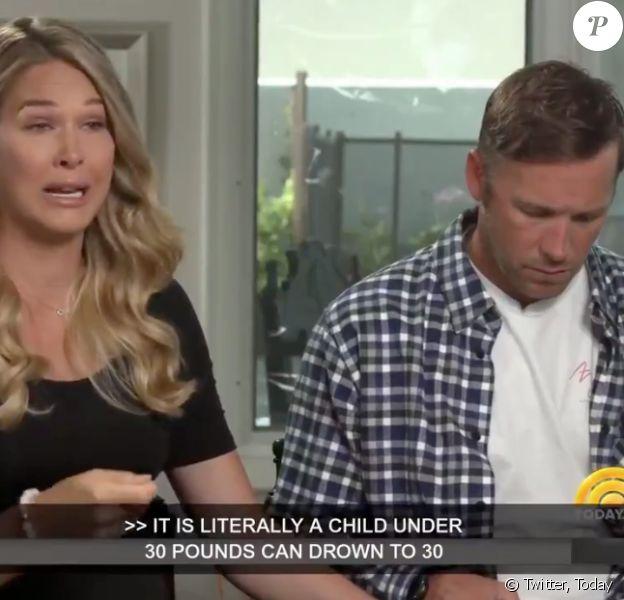 """Bode Miller et son épouse Morgan Beck brisent le silence après la mort par noyade de leur bébé dans le """"Today Show"""" de NBC. L'interview sera diffusée en intégralité le 30 juillet 2018."""