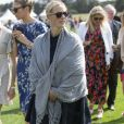 Zara Tindall lors du Royal County of Berkshire Polo Club International Day, le 28 juillet 2018.