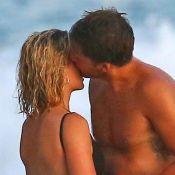 Margot Robbie : Bombesque sur la plage, entre deux baisers avec son chéri
