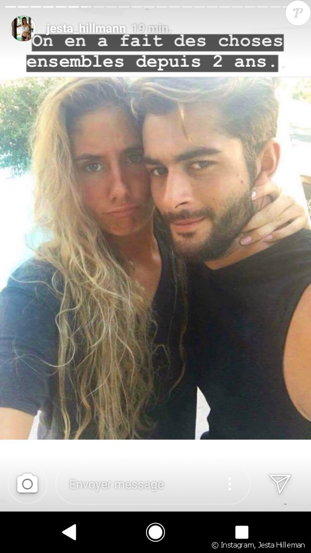 Jesta et Benoît (Koh-Lanta) fêtent leur deux ans de relation amoureuse - Instagram, 1er août 2018