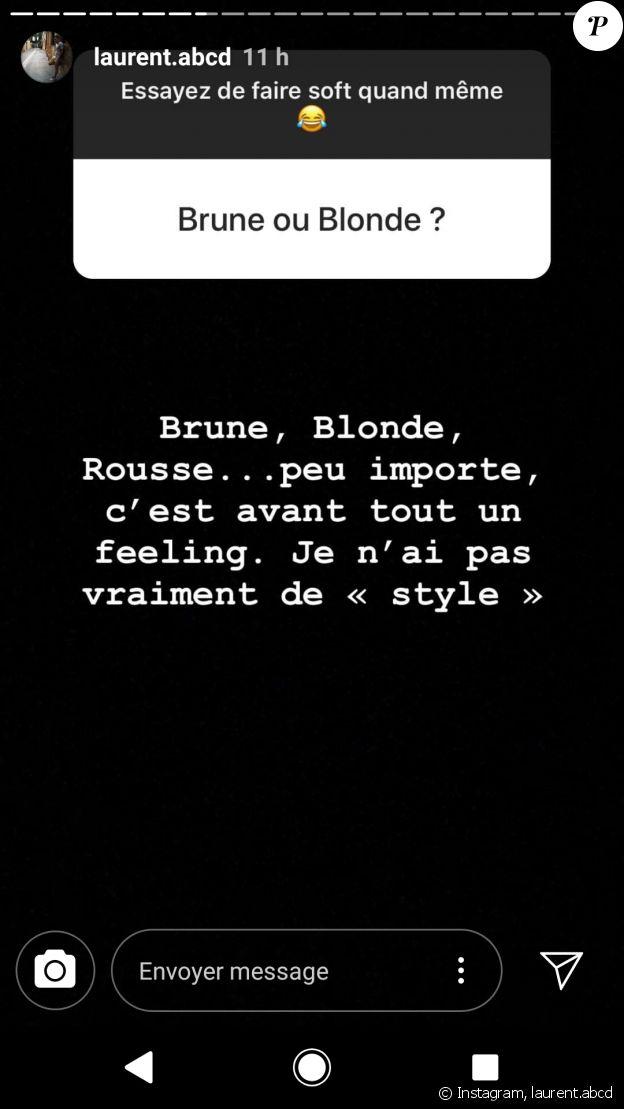"""Laurent de """"Mariés au premier regard"""" répond aux questions de ses fans - Instagram, 1er août 2018"""