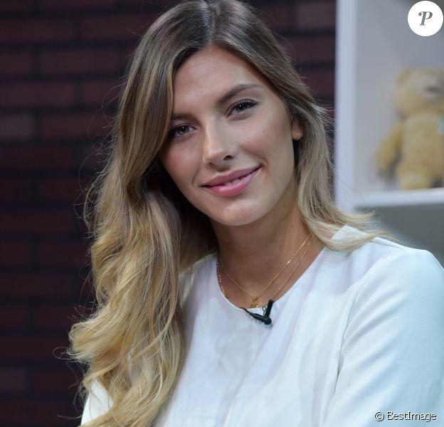 Exclusif - Camille Cerf (Miss france 2015) dans les locaux de Webedia pour une interview pour Purepeople à Levallois-Perret le 1er juin 2018. © Giancarlo Gorassini/Bestimage