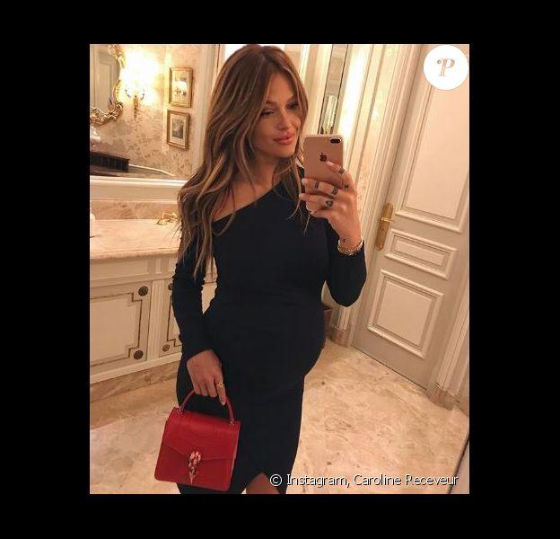 Caroline Receveur, maman pour la première fois d'un petit garçon prénommé Marlon - Instagram, 5 juillet 2018