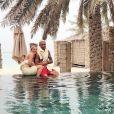 Lara Gut et Valon Behrami se sont mariés le 11 juillet 2018 à Lugano, en Suisse, quatre mois après avoir officialisé leur histoire d'amour. Photo Instagram du 27 mai 2018.