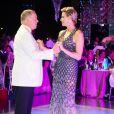 Le prince Albert II de Monaco et la princesse Charlene de Monaco lors du bal du 70e gala de la Croix-Rouge monégasque à Monaco le 27 juillet 2018. © Eric Mathon/Le Palais Princier/Monte-Carlo-SBM via Bestimage