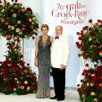 Le prince Albert II de Monaco et la princesse Charlene de Monaco arrivent à la 70e édition du gala de la Croix Rouge monégasque à Monaco le 27 juillet 2018. © Dominique Jacovides/Bestimage