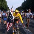 Lance Armstrong lors du Tour de France 2000.