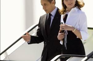 Nicolas Sarkozy et Carla en Espagne... en noir et blanc, Carlita assure le chic français ! Regardez !