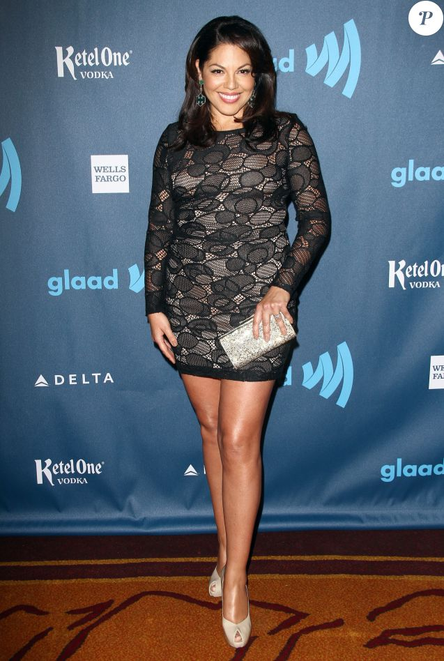 "Sara Ramirez - People au 24eme ""GLAAD Media Awards"" au JW Marriott a Los Angeles, le 20 avril 2013."