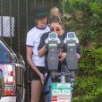 Exclusif - Cara Delevingne et Ashley Benson très complices dans les rues de West Hollywood, le 26 mai 2018