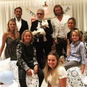 Karl Lagerfeld : Goûter d'anniversaire en famille pour sa chatte Choupette