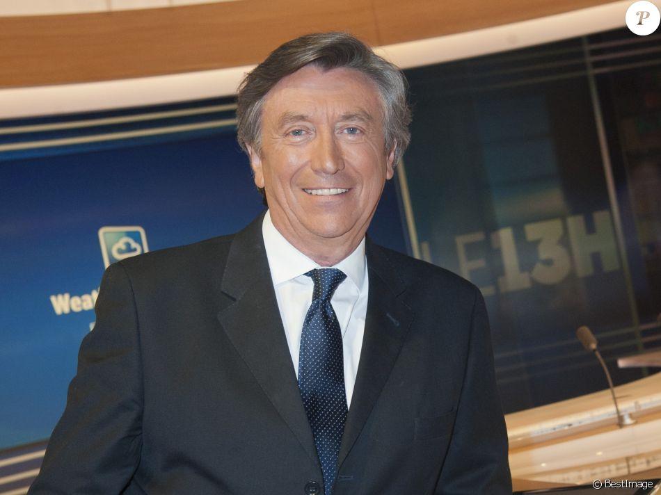 Exclusif - Jacques Legros sur le plateau du Journal de TF1 le 30 avril 2015