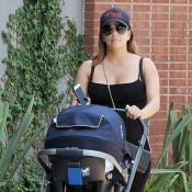Eva Longoria partage une nouvelle et tendre photo avec son fils Santiago, 2 mois