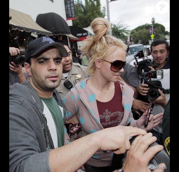 Britney Spears et Sam Lutfi en novembre 2007