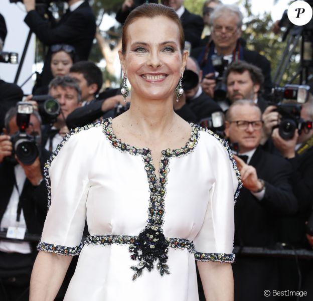Carole Bouquet - Montée des marches du film de la Soirée 70ème Anniversaire lors du 70ème Festival International du Film de Cannes. Le 23 mai 2017. © Borde-Jacovides-Moreau/Bestimage