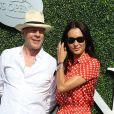 Bruce Willis et sa femme Emma lors du douzième jour de l'US Open 2016 au USTA Billie Jean King National Tennis Center à Flushing Meadow, New York City, New York, Etats-Unis, le 9 septembre 2016. © John Barrett/Globe Photos/Zuma Press/Bestimage