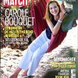 """Couverture du magazine """"Paris Match"""" en kiosques le 23 août 2018."""