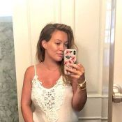 Hilary Duff enceinte : Craquante photo de son baby bump