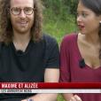 """Maxime et Alizée dans l'épisode 1 de """"Pékin Express : La Course infernale"""" sur M6."""
