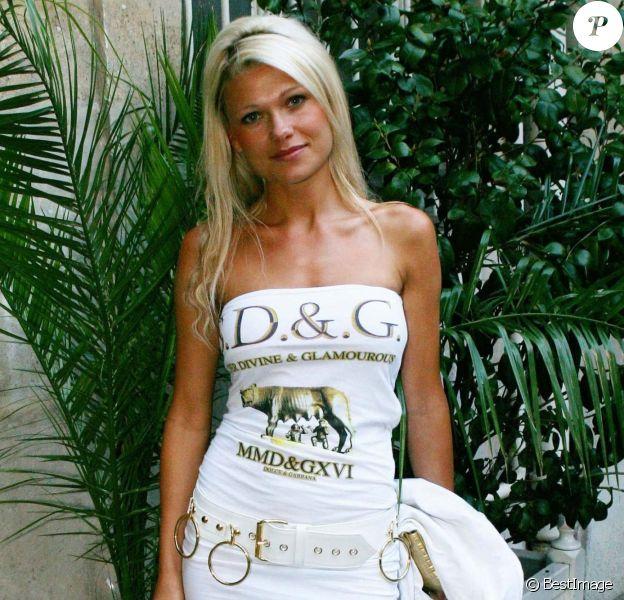 Angie Rose (Joanna Rosiak) à Paris, le 5 juin 2003